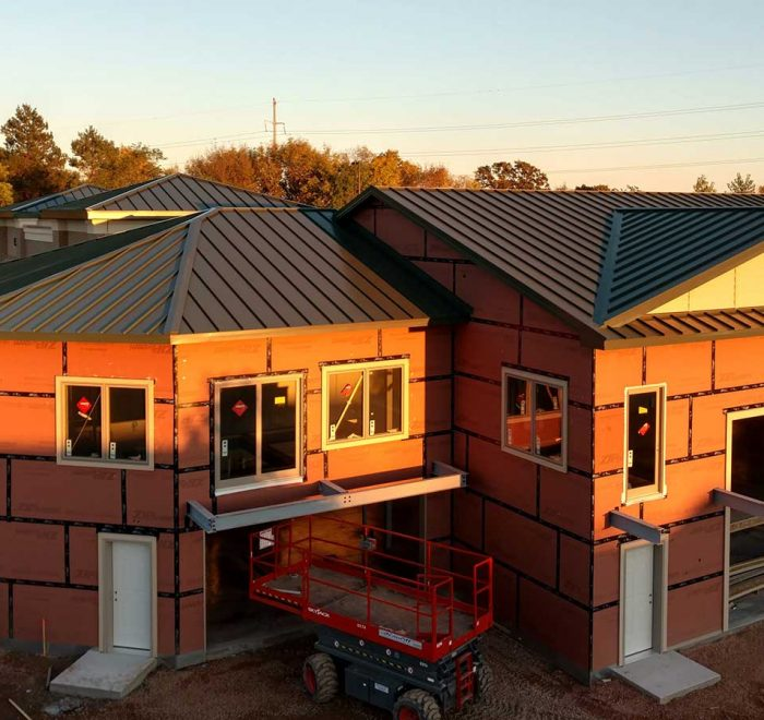 Large Scale Standing Seam Panel Projects
