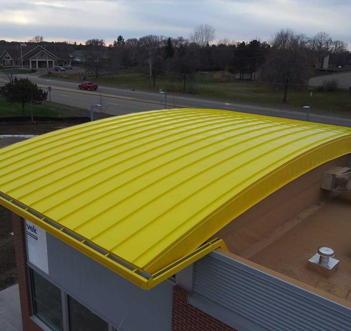 Curved Standing Seam Panels Projects
