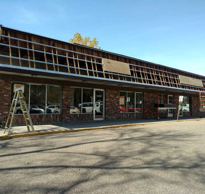 Strip Mall Remodeling - During